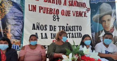 Comunidad educativa de Ciudad Sandino rinde homenaje al héroe nacional Augusto C. Sandino