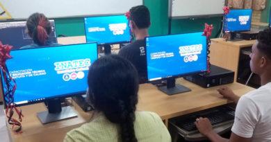 Nuevo laboratorio de computación inaugurado por el INATEC en el tecnológico Simón Bolívar