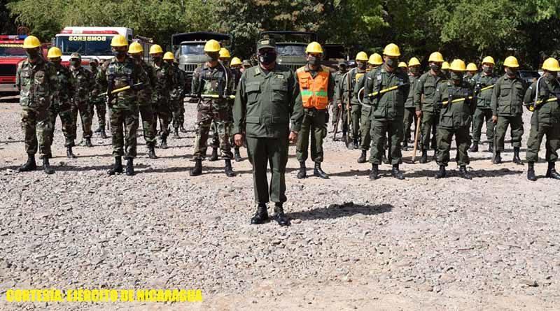 Lanzamiento del plan departamental contra incendios forestales en Estelí