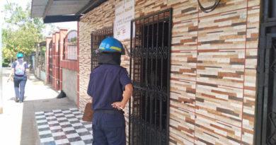 Bomberos unificados realizan inspección del sistema eléctrico en viviendas de Ticuantepe