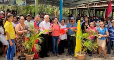 Inauguración de la ampliación de granja porcina en Jinotega