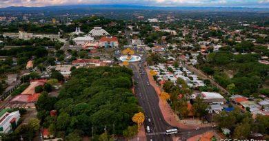 Vista panorámica del centro de Managua