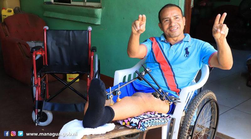 Uno de los protagonistas del programa ALMA Solidaria
