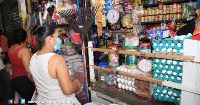 Trabajadores de los mercados de Managua