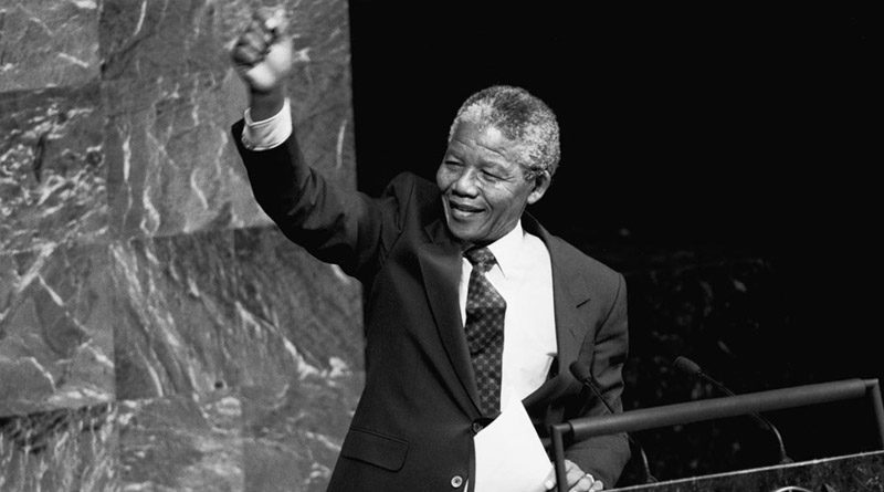 Nelson habló ante el Comité Especial contra el Apartheid de la Asamblea General de la ONU