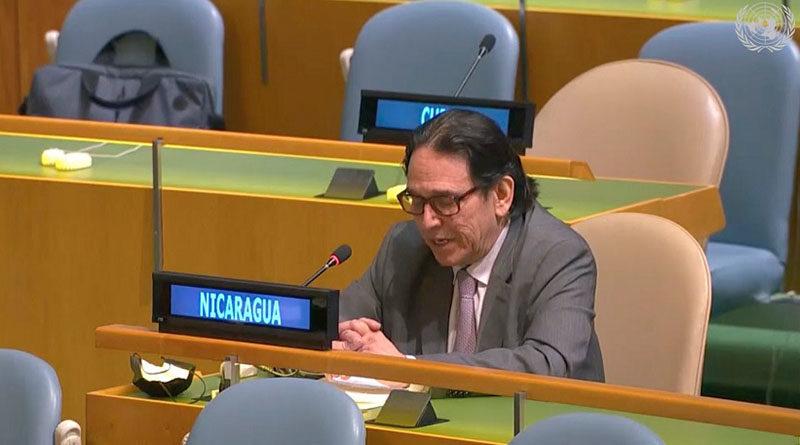 Jaime Hermida Castillo, Embajador, Representante Permanente de Nicaragua ante las Naciones Unidas