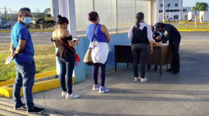 126 nicaragüenses regresan al país de manera ordenada y segura procedentes de Panamá