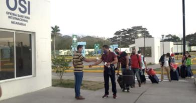 Imágenes de 97 nicaragüenses que regresaron a nuestro país, de manera ordenada y segura, el viernes 19 de febrero 2021, procedentes de Panamá, informó el Ministerio de Gobernación.
