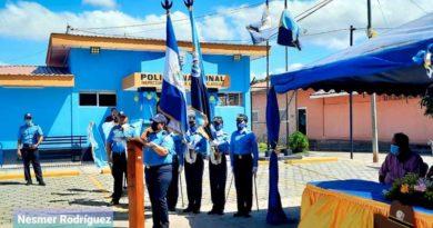 Inauguración de la Comisaría de la Mujer en San Juan de Limay, Estelí