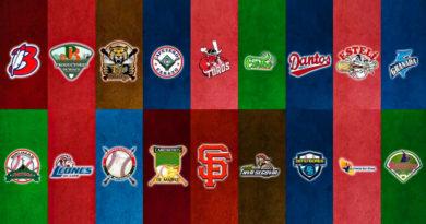 Logos de todos los equipos que serán parte del Pomares 2021