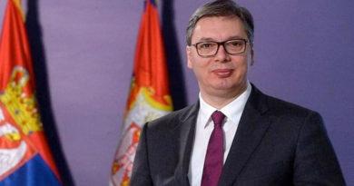 Su Excelencia Aleksandar Vučić Presidente de la República de Serbia