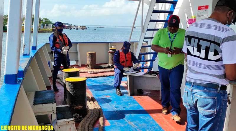 Efectivos de Fuerza Naval brindan protección a buques
