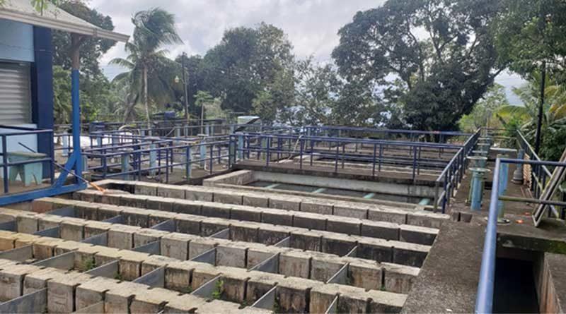 Sitio para nueva obra de agua potable en Nueva Guinea