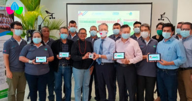 Representantes del INTA junto al embajador de Taiwán en Nicaragua, Sr Jaime Chin Mu Wu.