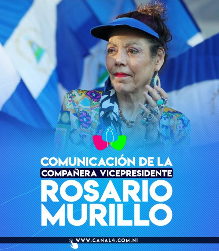 Rosario Murillo en Multinoticias