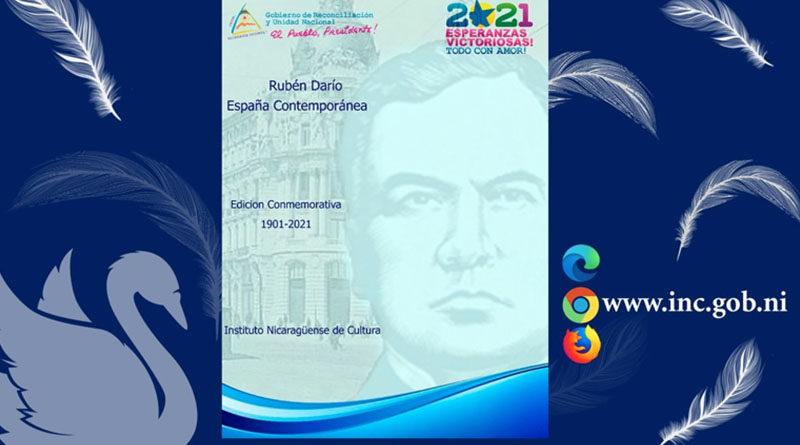 """Edición digital conmemorativa """"España Contemporanea"""" de Rubén Darío"""