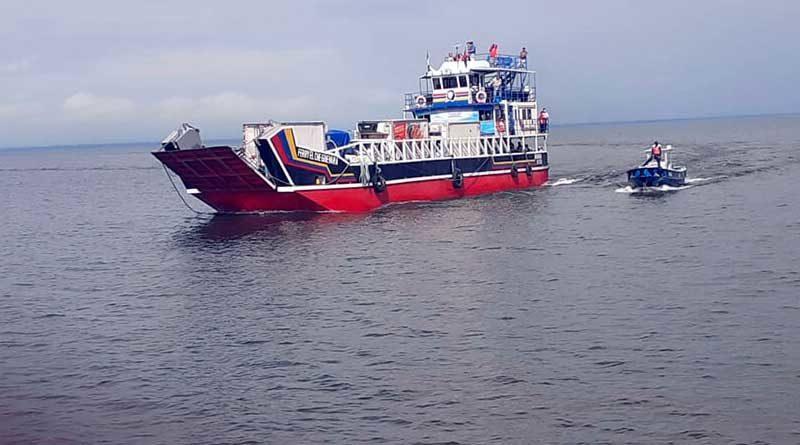 Embarcación en mar abierto