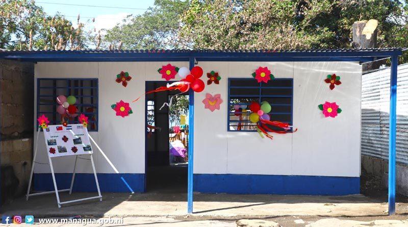 Vivienda entregada por la Alcaldía de Managua y la Embajada de Taiwán en el barrio Benedicto Valverde