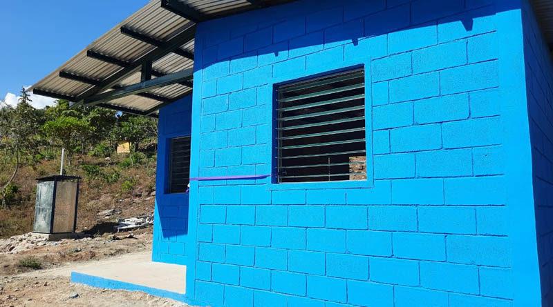 Viviendas nuevas entregadas a familias de Juigalpa