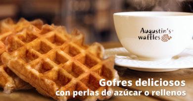 Los waffles o gofres son un tipo de torta crujiente que presenta una división en cuadrículas o rejillas y tienen su origen en Bélgica