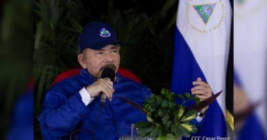 Comandante - Presidente Daniel Ortega durante el Acto del 41 Aniversario de la Cruzada Nacional de Alfabetización