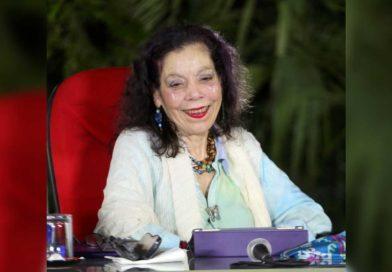 Vicepresidenta de Nicaragua, Rosario Murillo en el Acto del 41 Aniversario de la Cruzada Nacional de Alfabetización