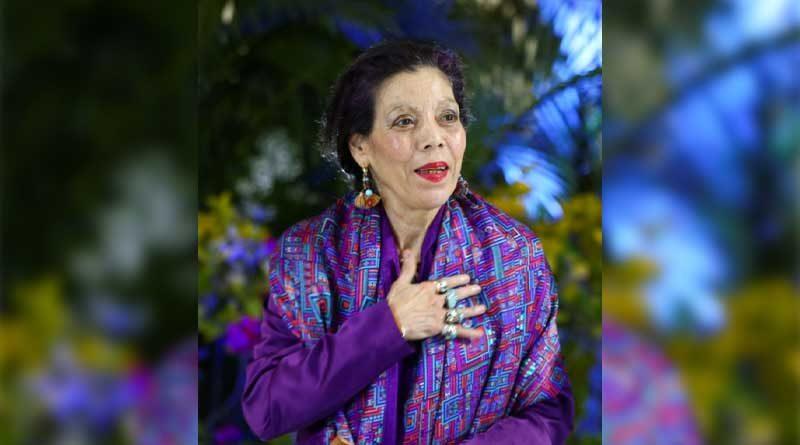 Vicepresidenta de Nicaragua, Rosario Murillo durante el Acto Especial en Conmemoración del Día Internacional de la Mujer 8 de Marzo del 2021