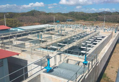 Nueva planta de tratamiento de agua potable.