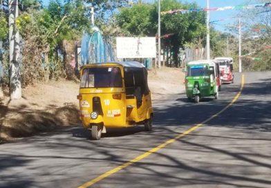 Nuevo tramo carretero inaugurado en la comarca Jocote Dulce