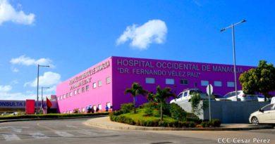 Vista del Hospital Fernando Vélez Paiz