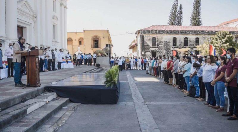 Acto central de inauguración del año lectivo 2021 en la UNAN - León
