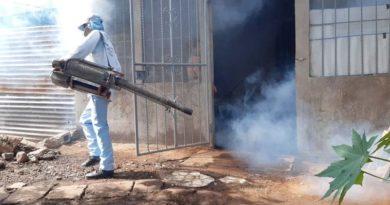 Brigadista del Ministerio de Salud durante la jornada realizada en Villa Reconciliación