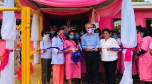 Inauguración de la Casa Materna el La Libertad Chontales