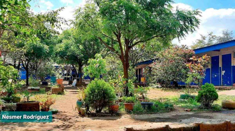 Vista del centro escolar de Chiquilistagüa