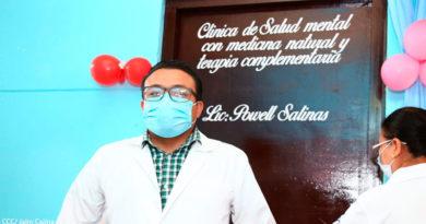 Doctor Powell Salinas, psicólogo del centro de salud Edgard Lang de Managua