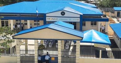 Fotografía del nuevo Complejo Judicial inaugurado en Siuna