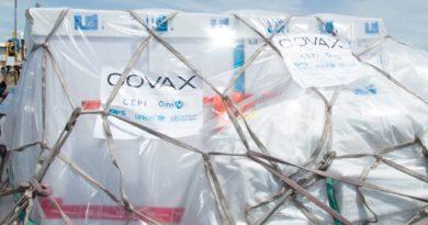 lote de 135 mil dosis de la vacuna contra el Covid-19 recibidas este martes 16 de marzo
