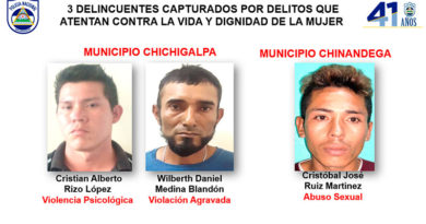 3 delincuentes capturados por delitos que atentan contra la vida y dignidad de la mujer
