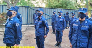Ejército de Nicaragua realiza traspaso de mando del Destacamento Naval de Aguas Interiores