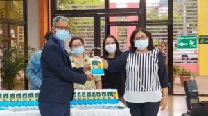 UNICEF entrega donación de guías para formación integral de la niñez nicaragüense