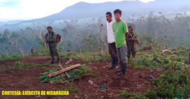 Dos personas retenidas por el Ejército de Nicaragua en Puerto Cabezas