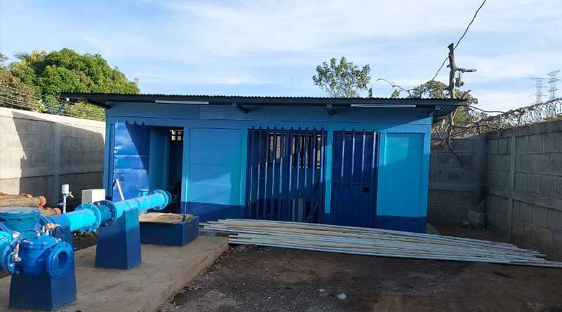 Construcción nuevo pozo agua potable Ticuantepe