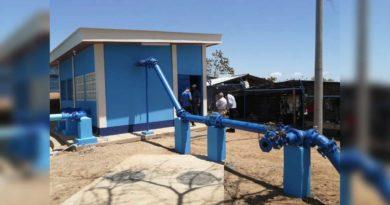 Imagen de ampliación del sistema de agua en Tola