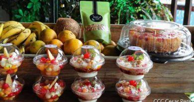 Postres naturales y alimentos nutritivos son parte de la oferta para este fin de semana en el Parque Nacional de Ferias