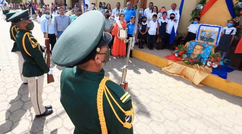 Homenaje al General José Dolores Estrada en Nandaime
