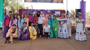Estudiantes que participaron en la tradicional Judea en Tipitapa