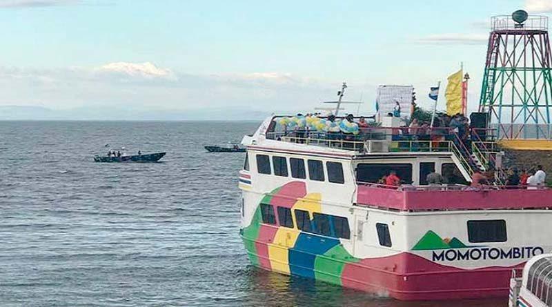 Fuerza Naval monitorea fenómeno meteorológico que afectará los lagos Cocibolca y Xolotlán