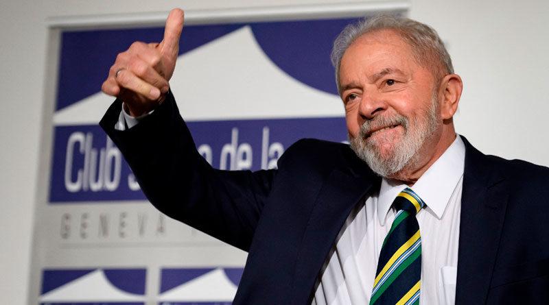 Ex presidente de Brasil y Líder del Partido de los Trabajadores, Luiz Inácio Lula da Silva