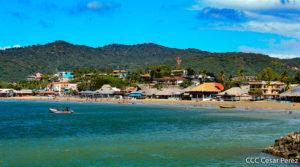 Vista de la bahía de San Juan del Sur