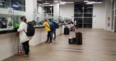 Nicaragüenses que arribaron al país procedentes de Panamá